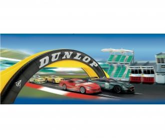 Scalextric Dunlop Fußgängerbrücke (Dior.)