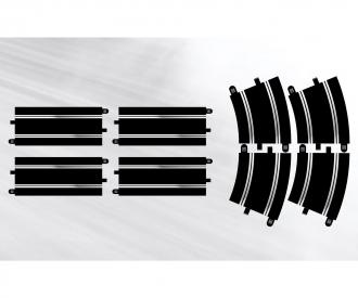 Track Ext. Pack 7-(4)Strai.&(4)R4 Curv.