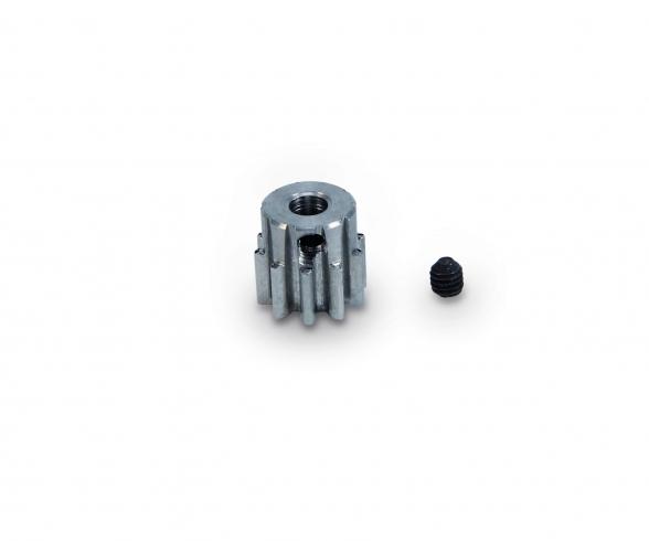 Motorritzel 10 Zähne M 0,8 Stahl gehärt.
