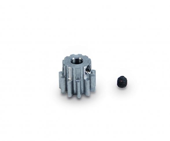 Motorritzel 11 Zähne M 0,8 Stahl gehärt.