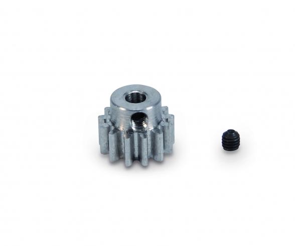 Motorritzel 13 Zähne M 0,8 Stahl gehärt.