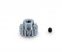 Motorritzel 15 Zähne M 0,8 Stahl gehärt.