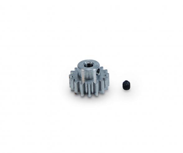 Motorritzel 16 Zähne M 0,8 Stahl gehärt.