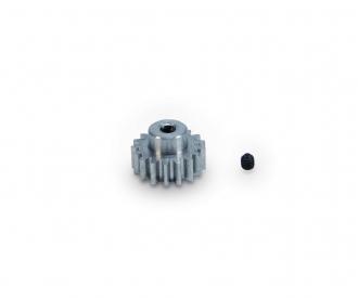 Motorritzel 17 Zähne M 0,8 Stahl gehärt.