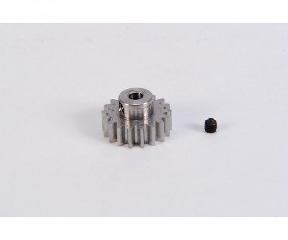 Motorritzel 18 Zähne M 0,8 Stahl gehärt.