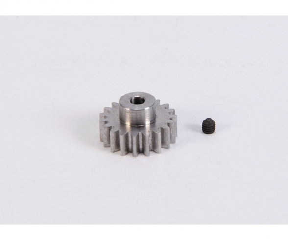 Motorritzel 19 Zähne M 0,8 Stahl gehärt.