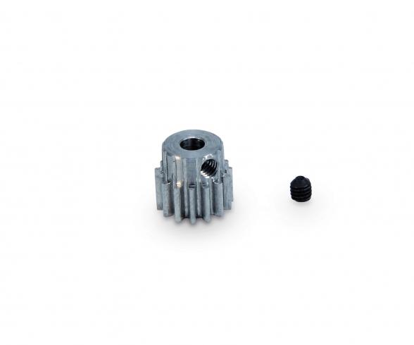 Motorritzel 15 Zähne M 0,6 Stahl gehärt.