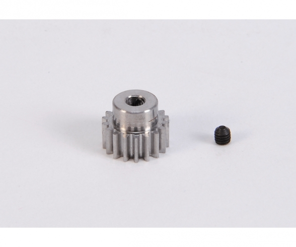 Motorritzel 18 Zähne M 0,6 Stahl gehärt.