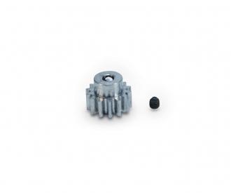 Motorritzel 14 Zähne M 0,8 Stahl gehärt.