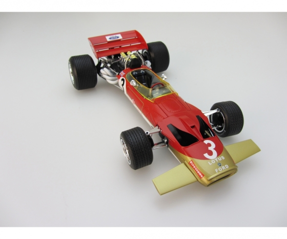1:20 Team Lotus Type 49C 1970 EBBRO