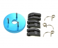 3-shoe clutch with spring CV-10