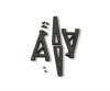 Wishbone set (2 x) lo/up r/ fr/re CV-10