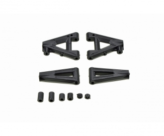 Suspension arm-set front/rear CV-10