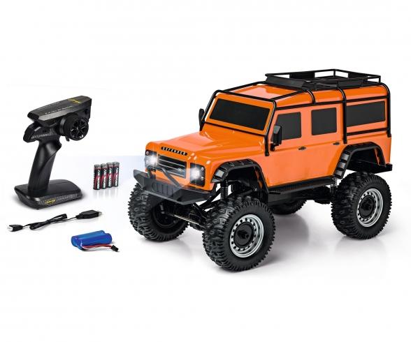 1:8 Land Rover Defender 100% RTR orange