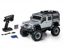 1:8 Land Rover Defender 100% RTR silber