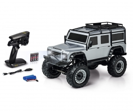 1:8 Land Rover Defender 100% RTR silver
