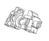 Gearbox front & rear CE-10, tightend