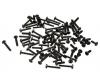 FY10 Linsenkopfschrauben, 84 Stück