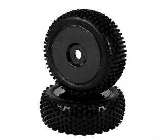1:8 Tyre Set Dish black 2pcs