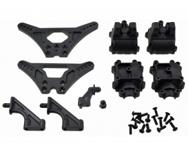X10EB Shock Tower Gearbox + Parts