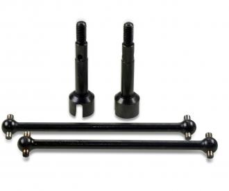 X10EB Rear Dogbone + Drive Cup, 2 pcs