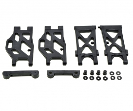 X10EB Lower Suspension Arm + Holder f/r