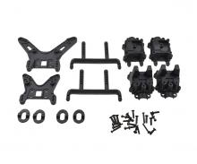 X10ET RockWarrior Shock tower, gear box