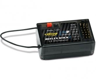 Empfänger REFLEX Stick II 6 Kanal 2.4G