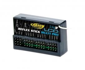 Empfäng. Reflex Stick Multi Pro LCD 2.4G