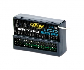 Receiver 14CH Reflex Stick Pro LCD 2.4G