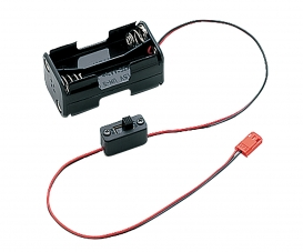 KO MC-8 Batteriebox mit Schalter (4xAA)