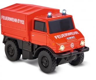 1:87 MB Unimog U406 Feuerwehr 2.4G 100%