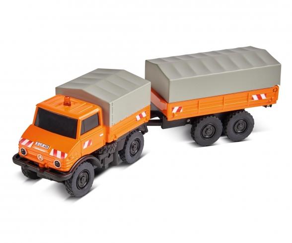 1:87 MB Unimog U406 w. trailer 100% RTR