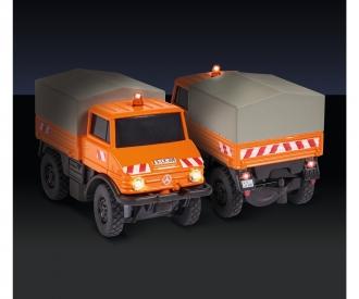 1:87 MB Unimog U406 m. Anhänger 100% RTR