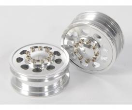 1:14 Alloy Front Wheel 9-Holes (2)