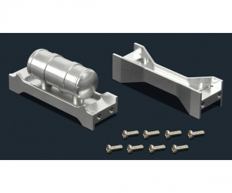 1:14 Alloy Middle Chassis Mount Truck(2)