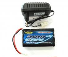 Multifunction charger set 9,6V