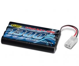 9,6V/1300 mAh NiMH Accus Power Pack TAM