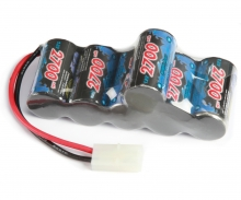 Akku Racing Pack Hump 7,2V/2700 mAh NiMh