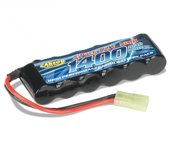 7,2V/1400mAh NiMH Battery Mini-TAM