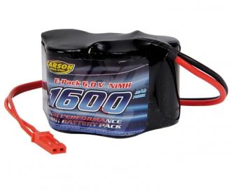 6V/1600mAh NiMH RX-Battery Hump BEC
