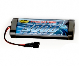 7,2V/3000mAh NiMH Race Battery T-Plug