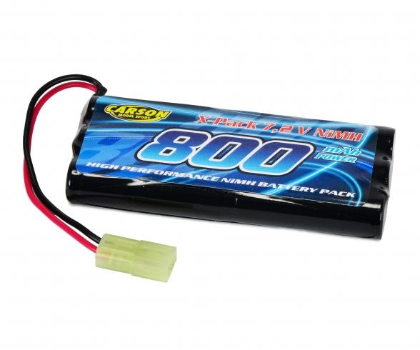 7,2V/800mAh NiMH Power Akku Mini-TAM