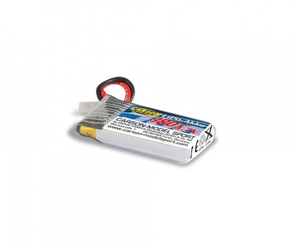 3.7V/380mAh LiPO Battery X4 Quadc. SPY