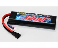 LiPo-RP-7.4V-3200mAh-25C-Round-T-Plug