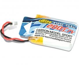 3.7V/200mAh LiPO Battery X4 Cage Copter