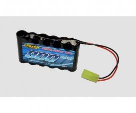 7,2V/800mAh Power NiMH accu Mini-TAM