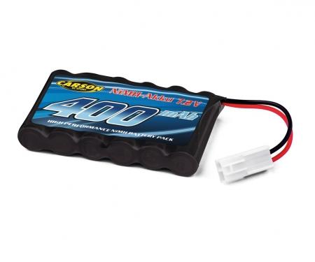 Battery 7,2V/400mAh, NIMH Mini Tamiya