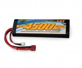7,4V/4500mAh 60C LiPO Battery T-Pl. HC R