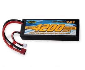 7,4V/4200mAh 60C LiPO accu T-Pl. HC